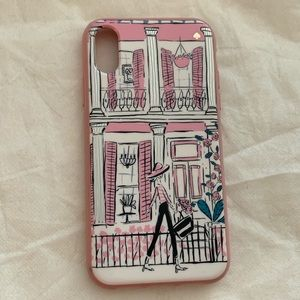 Pink kate spade iphone XR case